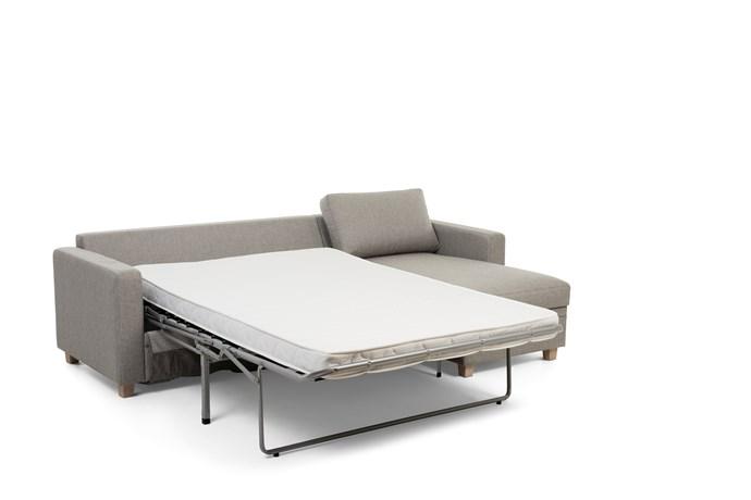 Oppdatert Sofia 2,5-seter og 3-seter sovesofa med sjeselong • Hovden Møbel OV-04