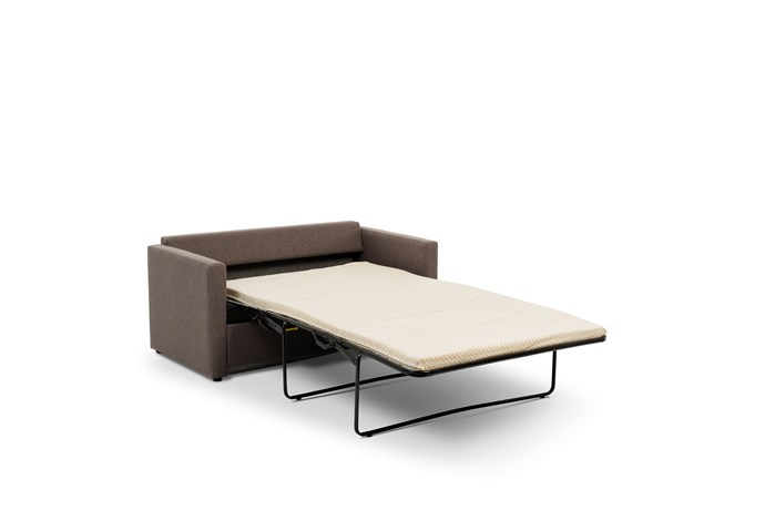 Alvorlig Max 2-seter moderne sovesofa - liten og nett med oppbevaring for ZO-53